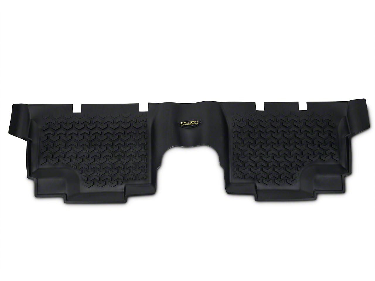 Barricade Rear Floor Liner, Black (07-17 Wrangler JK 4-Door)