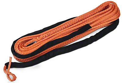 Barricade Replacement Synthetic Rope for Barricade 9500lb Winch - Orange