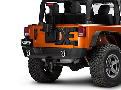 Rugged Ridge Spartacus HD Tire Carrier - Hinge (07-17 Wrangler JK)