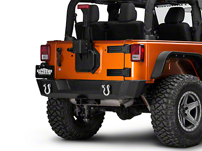 Rugged Ridge Spartacus HD Tire Carrier - Wheel Mount (07-17 Wrangler JK)