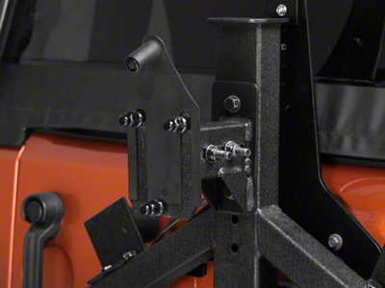 Raxiom Factory GPS Rear Back-up Camera Kit (07-17 Wrangler JK)