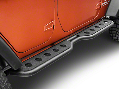 Barricade Extreme HD Rocker Steps (07-17 Wrangler JK 4-Door)