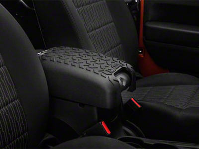 Rugged Ridge Center Console Cover - Black (11-17 Wrangler JK)