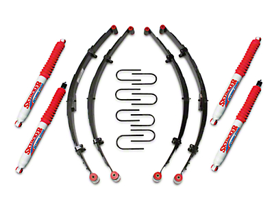 SkyJacker 2.5 in. Lift Kit w/ Hydro Shocks (87-95 Wrangler YJ)