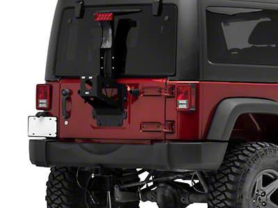 MORryde Heavy Duty Spare Tire Carrier (07-17 Wrangler JK)