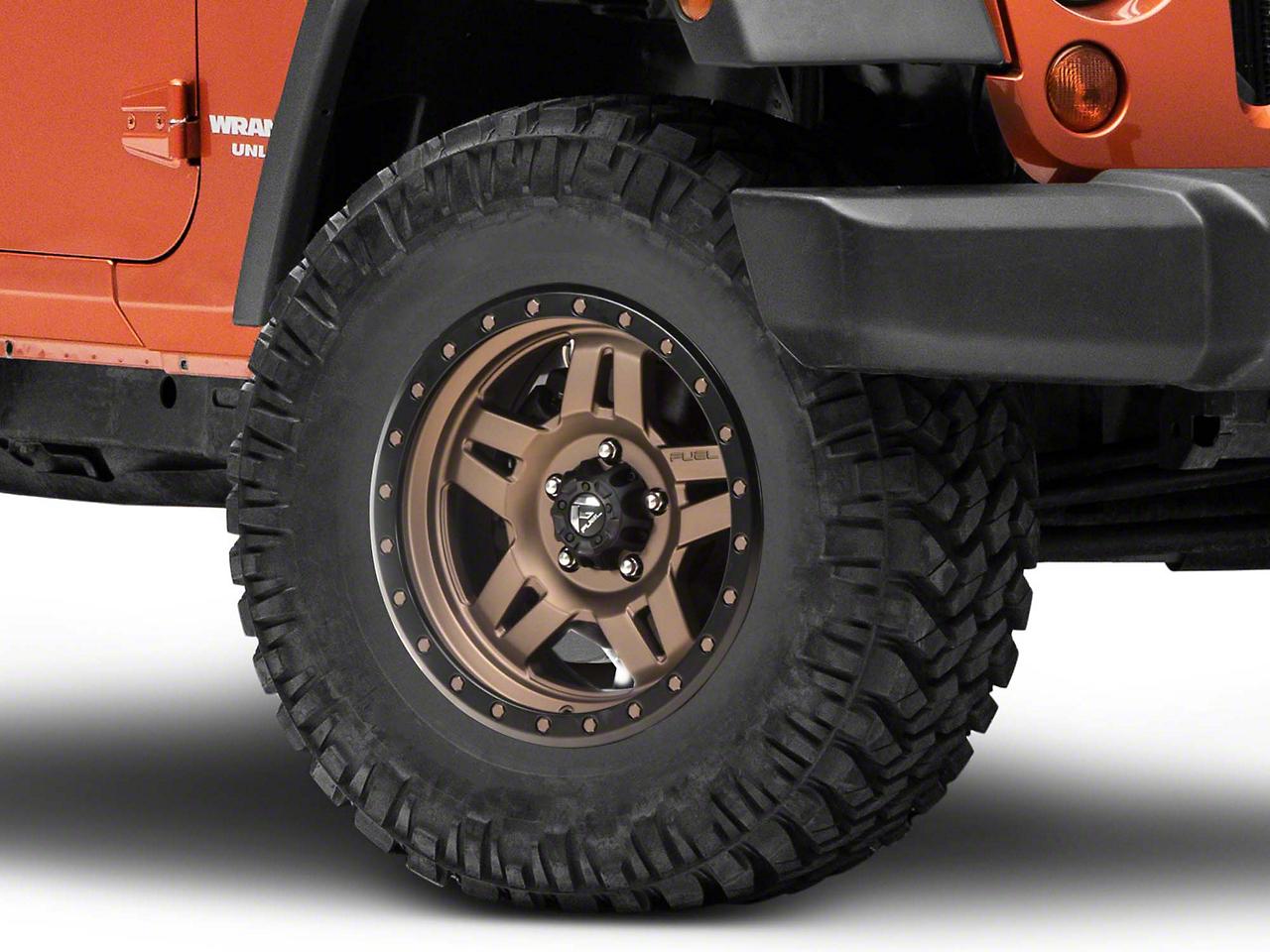 Fuel Wheels Bronze ANZA Wheel - 17x8.5 (07-17 Wrangler JK)