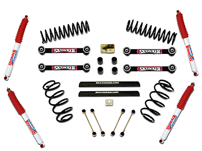 SkyJacker 4 in. Sport Lift w/ Shocks (97-02 Wrangler TJ)