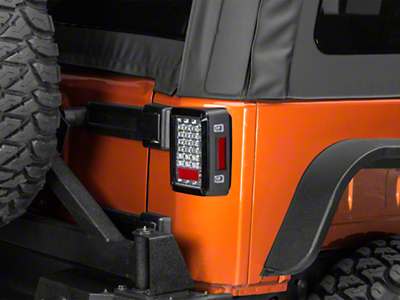 Axial LED Tail Lights - Crystal Clear (07-17 Wrangler JK)