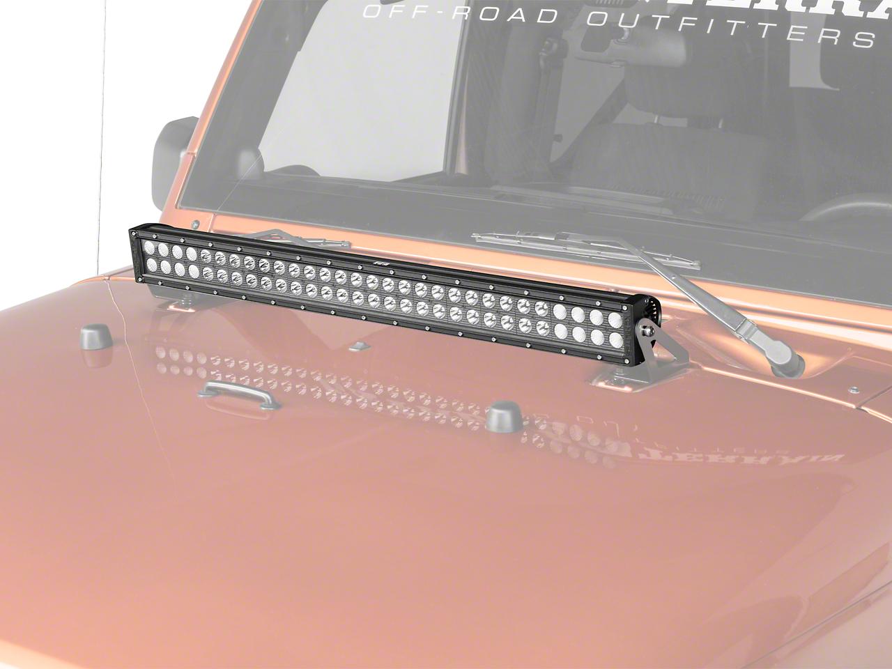 KC HiLiTES 30 in. C-Series C30 LED Light Bar - Spot/Spread Combo (87-17 Wrangler YJ, TJ & JK)