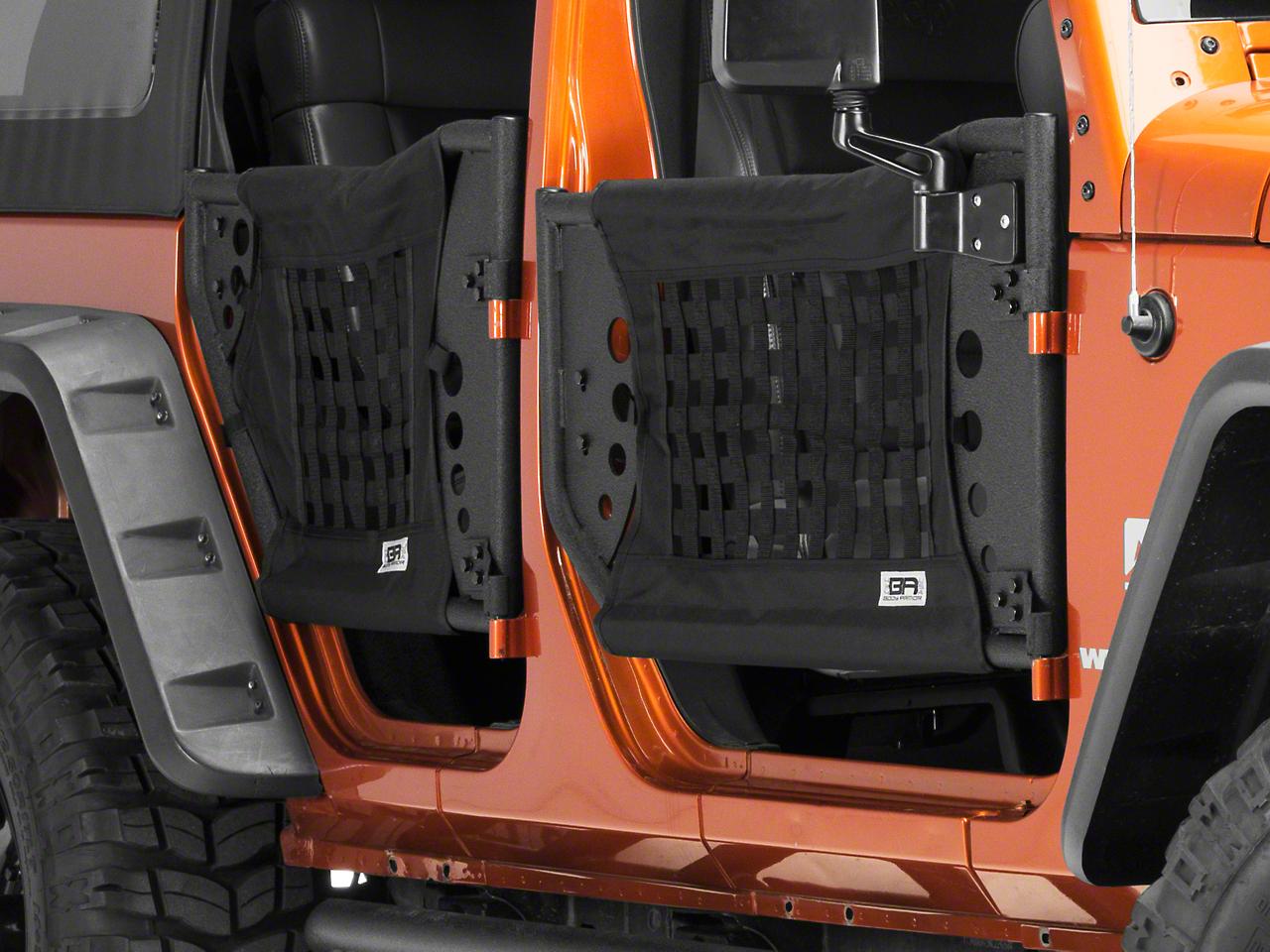 Body Armor 4x4 GEN 3 Trail Doors - Front Doors (07-17 Wrangler JK)