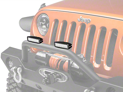Hella 6 in. ValueFit Mini LED Light Bar - Flood Beam (87-17 Wrangler YJ, TJ & JK)