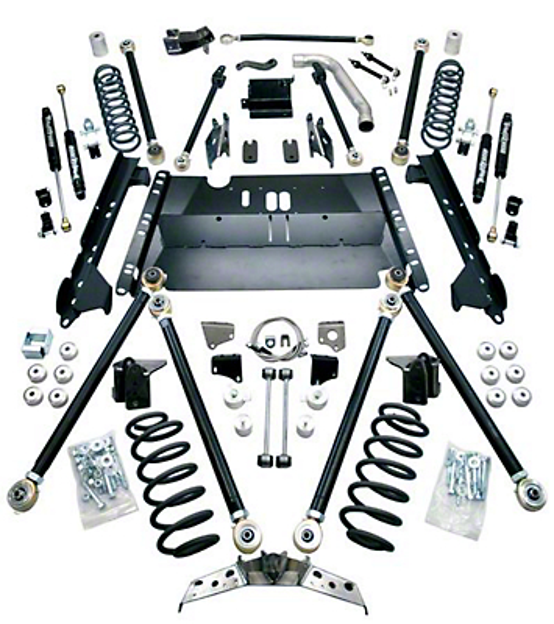 Teraflex 5 in. Pro LCG Suspension System w/ Shocks (04-06 Wrangler TJ Unlimited)