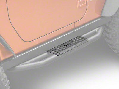 Rugged Ridge RRC Side Armor Guard Plates for Rugged Ridge Nerf Bars (07-17 Wrangler JK 2-Door)