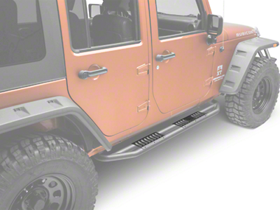 Rugged Ridge RRC Side Armor Guard Plates (07-17 Wrangler JK 4-Door)