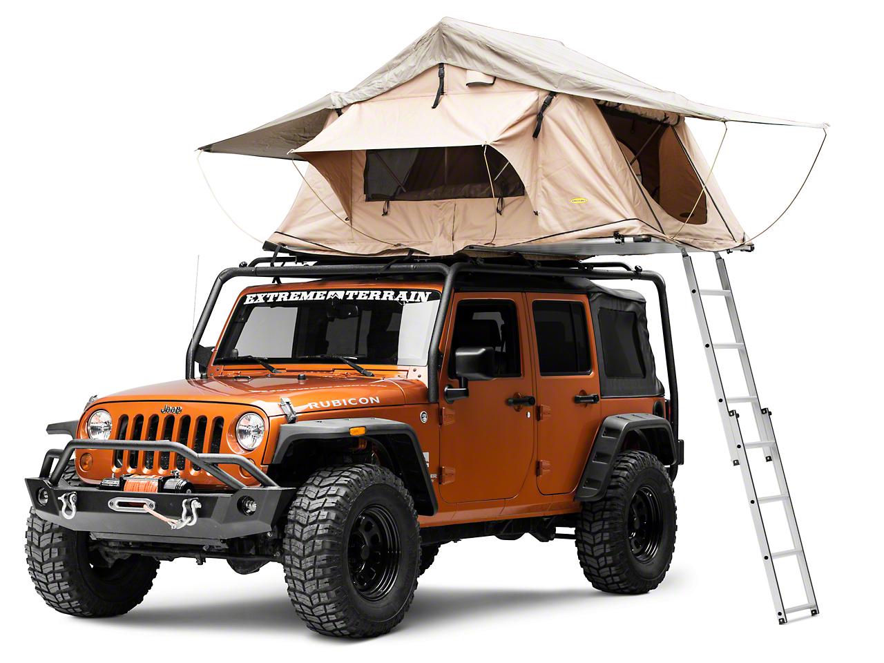Smittybilt Overlander Roof Tent (87-17 Wrangler YJ, TJ & JK)