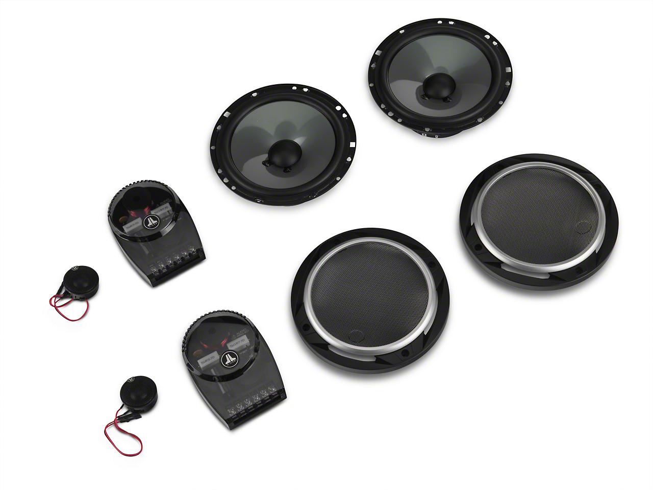 JL Audio 6.5 in. 2-Way Component Speaker System (87-17 Wrangler YJ, TJ & JK)