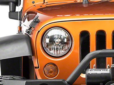 Delta Headlight LED Conversion Kit - H13 (07-17 Wrangler JK)