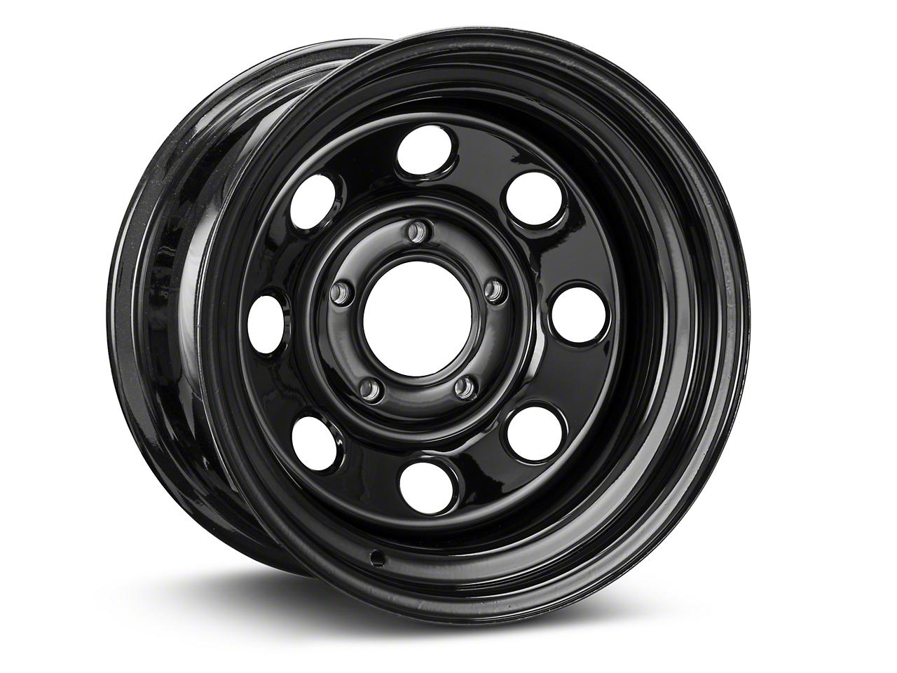 Pro Comp Steel Series 98 Rock Crawler Gloss Black Wheel - 15x8 (07-17 Wrangler JK)