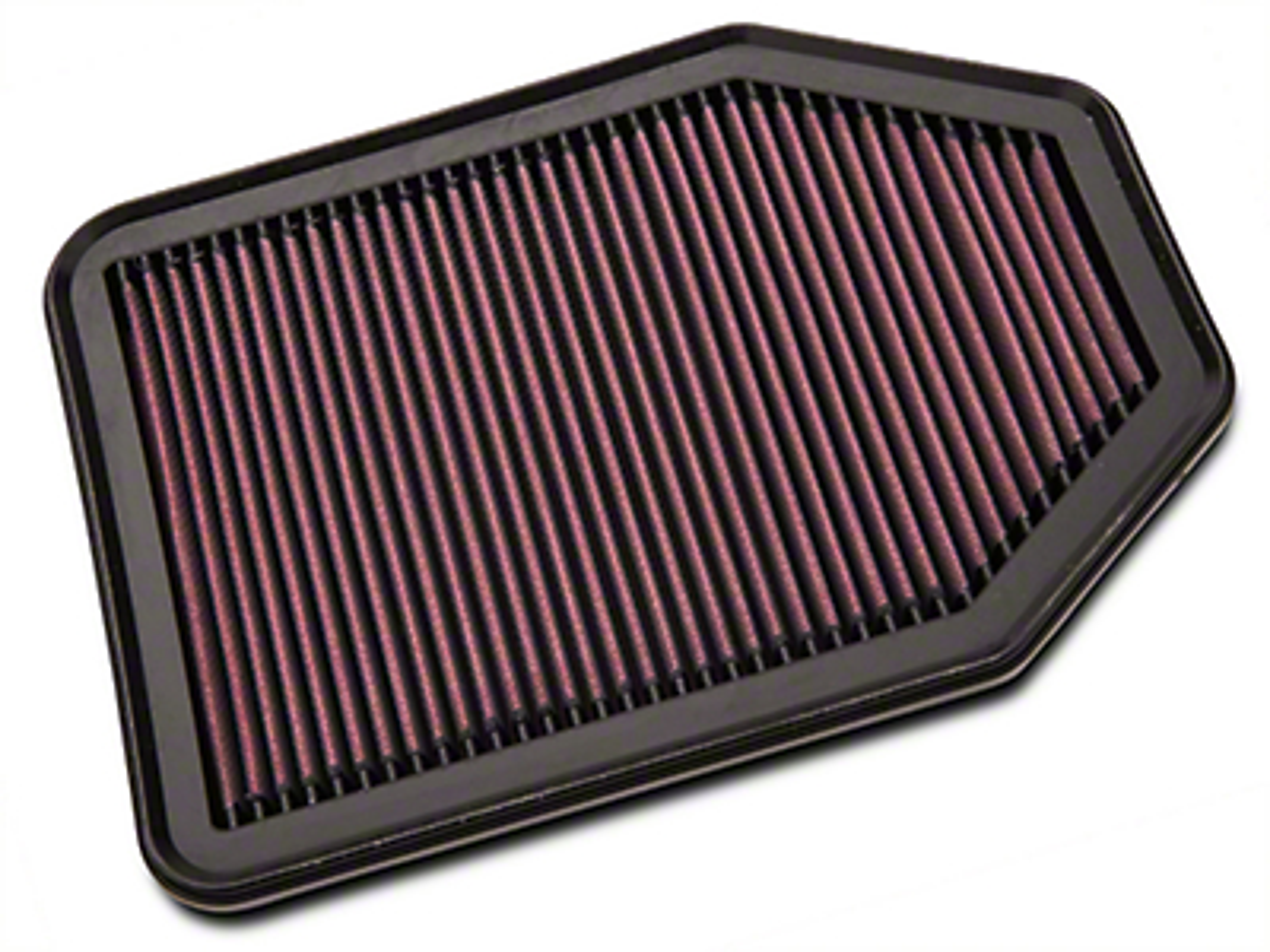 K&N Drop-In Replacement Air Filter (07-17 3.6L or 3.8L Wrangler JK)