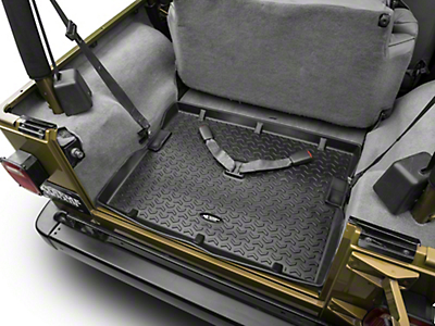 Rugged Ridge All Terrain Cargo Liner, Black (97-06 Wrangler TJ)