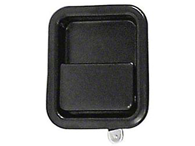 Omix-ADA Black Full Steel Door Paddle Handle (87-95 Wrangler YJ RH, 97-06 Wrangler TJ LH)