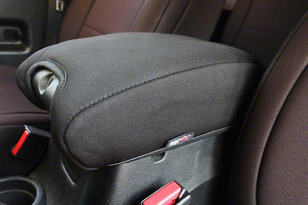 Rugged Ridge Neoprene Center Console Armrest Pad, Black (11-17 Wrangler JK)