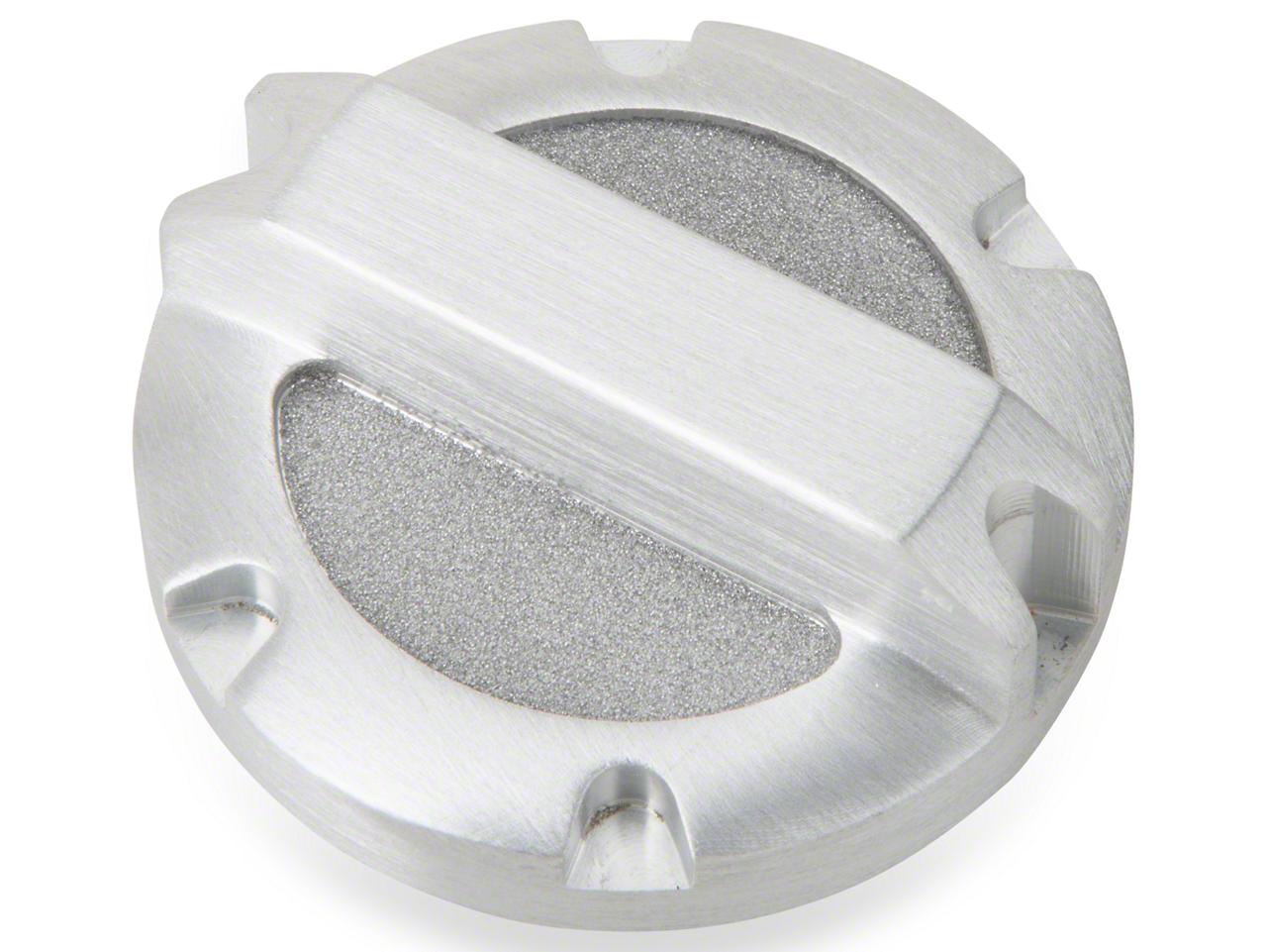 Rugged Ridge Brushed Billet Aluminum Brake Master Cylinder Cap (97-17 Wrangler TJ & JK)