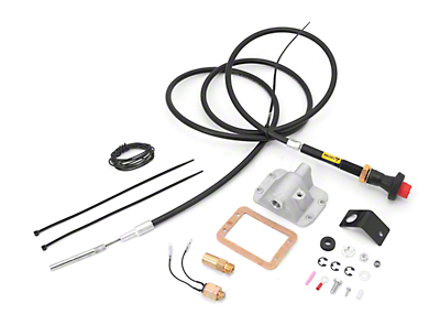 Alloy USA Differential Cable Lock Kit w/ Front D30 Axle (87-95 Wrangler YJ)