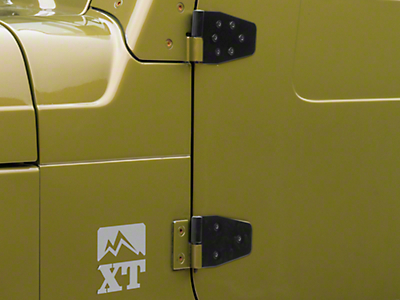 Rugged Ridge Door Hinge Set for Half Doors (87-06 Wrangler YJ & TJ)