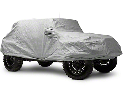 Smittybilt Full Climate Jeep Cover (07-17 Wrangler JK 4 Door)
