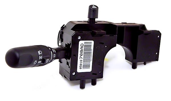 Omix-ADA Multi Function Headlight Switch (01-06 Wrangler TJ)