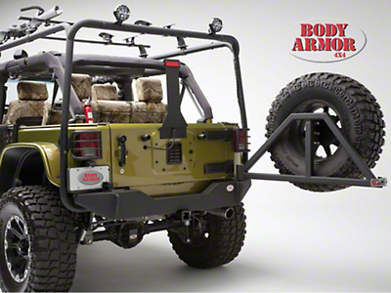 Body Armor 4x4 Rear Bumper (07-17 Wrangler JK)