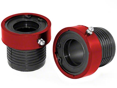Alloy USA Red Grande Axle Tube Seals (87-17 Wrangler YJ, TJ & JK w/ 30-Spline Dana 30 or Dana 44 Front Axles)