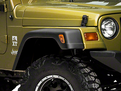 Omix-ADA 7 in. Fender Flare 6pc Kit w/ Hardware (97-06 Wrangler TJ)