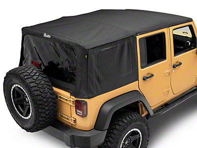 Bestop Supertop NX - Black Diamond (07-17 Wrangler JK 4 Door)