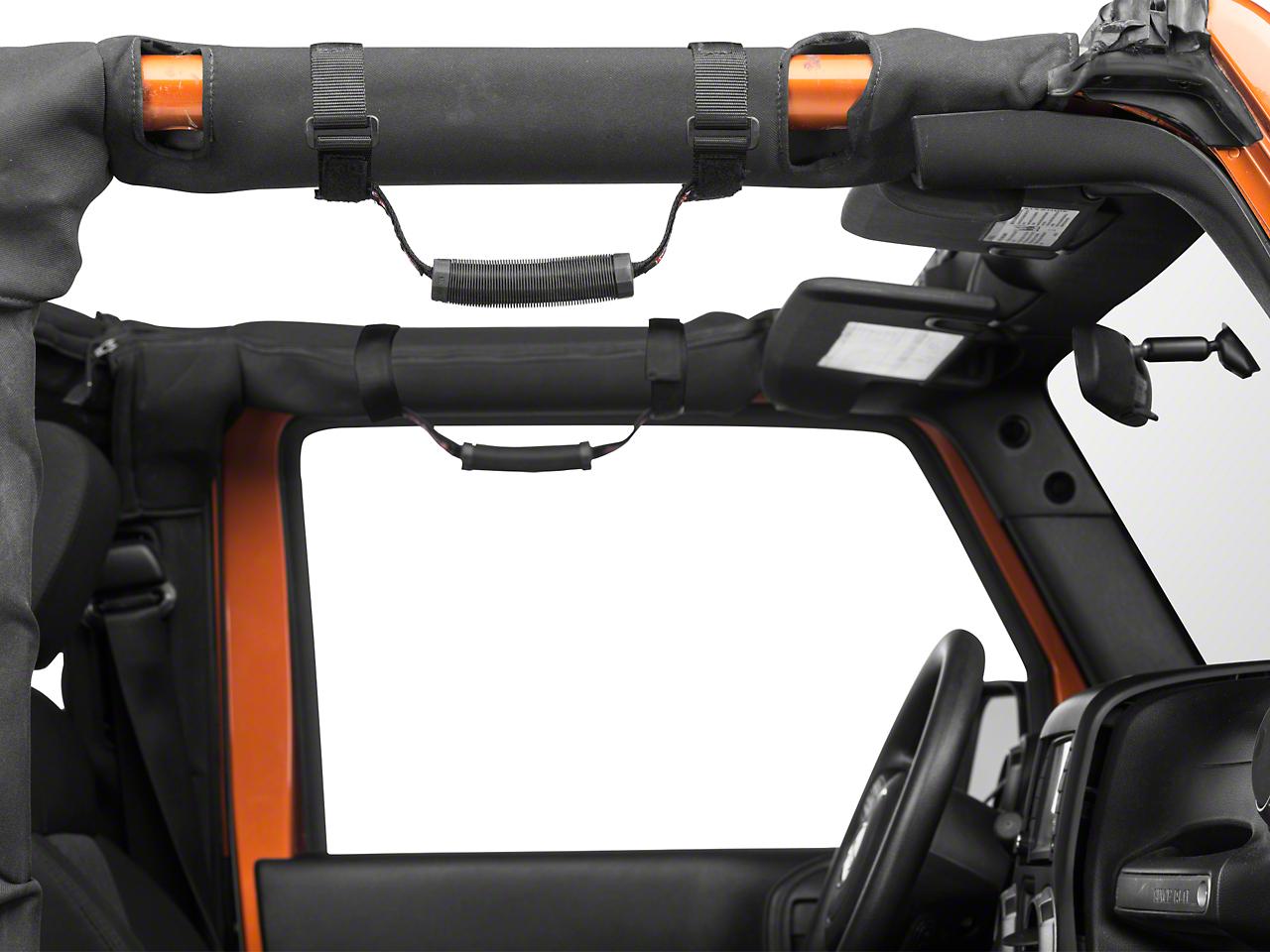 Teraflex 3 in. Roll Bar Grab Handles (87-17 Wrangler YJ, TJ & JK)