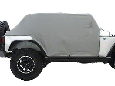 Smittybilt Water Resistant Cab Cover w/ Door Flaps (07-17 Wrangler JK 4 Door)