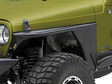 Smittybilt XRC Armor Front Tube Fenders (87-95 Wrangler YJ)