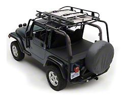 Barricade Wrangler Roof Rack Textured Black J100172 97