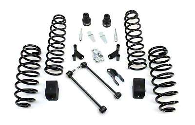 Teraflex 2.5 in. Lift Kit w/o Shocks w/ Adapters (07-17 Wrangler JK 2 Door)