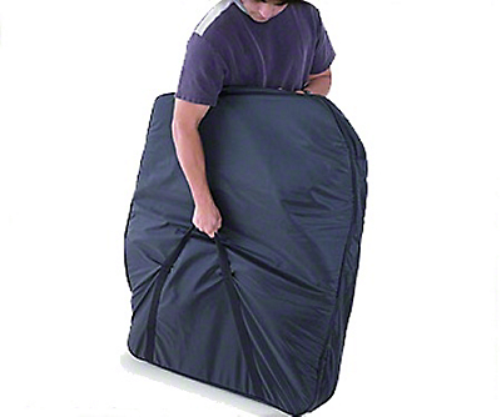 Smittybilt Storage Bag - Hard Doors - Pair - Black (87-06 Wrangler YJ & TJ)