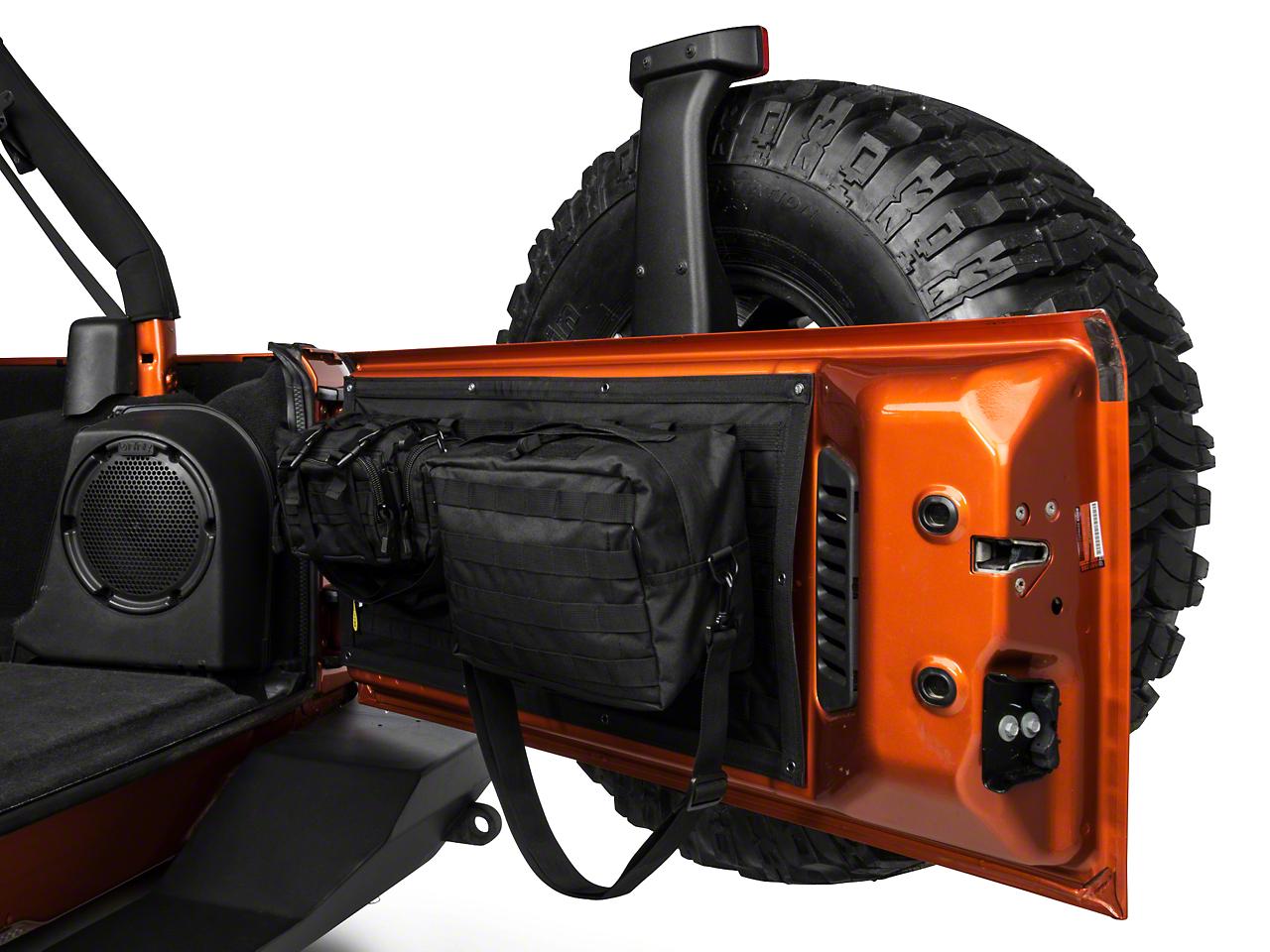 Smittybilt GEAR Tailgate Cover - Black (07-17 Wrangler JK)