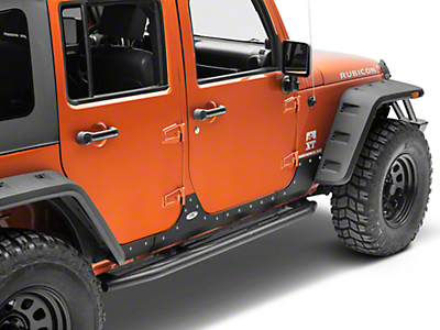 Smittybilt XRC Body Cladding - Black Textured (07-17 Wrangler JK 4 Door)