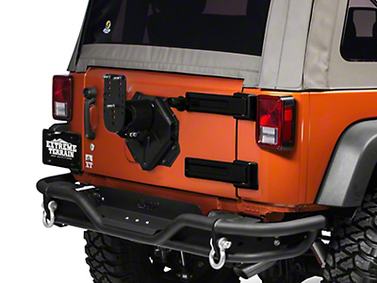 Teraflex HD Adjustable Spare Tire Mounting Kit (07-17 Wrangler JK)