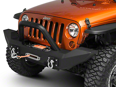 Off Camber Fabrications by MBRP Bumper Light Bar/Grille Guard (07-17 Wrangler JK)