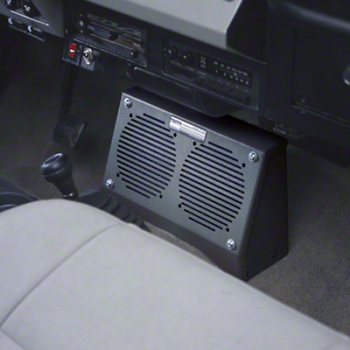 Tuffy Dual Speaker Security Box (87-95 Wrangler YJ)