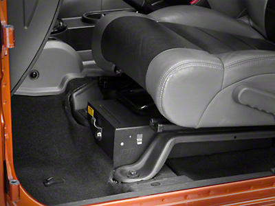 Tuffy Driver Side Conceal Carry Underseat Drawer (07-17 Wrangler JK)