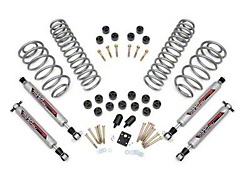 Zone Offroad Wrangler 3 in. Suspension Lift Kit With Hydro