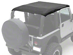 Smittybilt Extended Top, Black Diamond (10-17 Wrangler JK 2 Door)