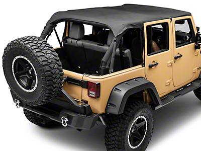 Smittybilt Extended Top - Black Diamond (10-17 Wrangler JK 4 Door)